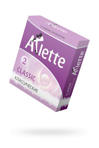 Презервативы ''Arlette'' №3, Classic Классические  3 шт.