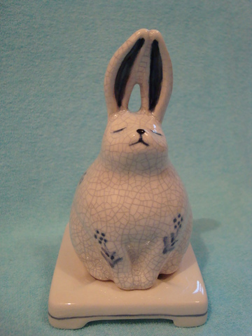 Ceramic Incense burner Rabbit