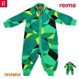 Флисовый комбинезон Reima Villi 516217-8878 green