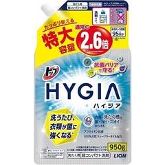 Жидкость для стирки белья,  Lion, Top HYGIA, с отрицательными ионами, сменный блок, 950 гр.