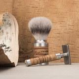 Т-образная бритва MUEHLE ROCCA, сталь, береста, closed comb (R 95)