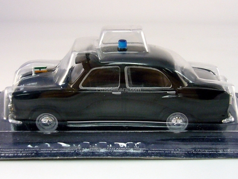Hindustan Ambassador Police India 1:43 DeAgostini World's Police Car #13