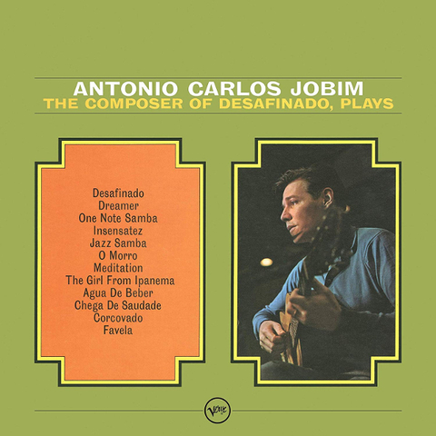 Antonio Carlos Jobim / The Composer Of Desafinado, Plays (LP)
