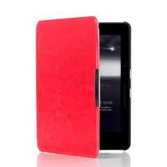 Чехол-обложка Hard Case Magnetic Cover для Amazon Kindle Voyage Red Красный