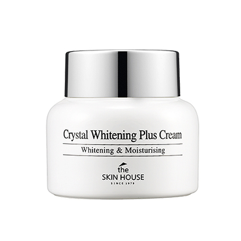 THE SKIN HOUSE CRYSTAL WHITENING PLUS CREAM Отбеливающий крем 50g