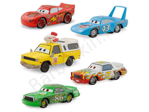 Набор машинок Делюкс «Кубок Поршня» (Deluxe Piston Cup Set) - Тачки (Cars), Disney