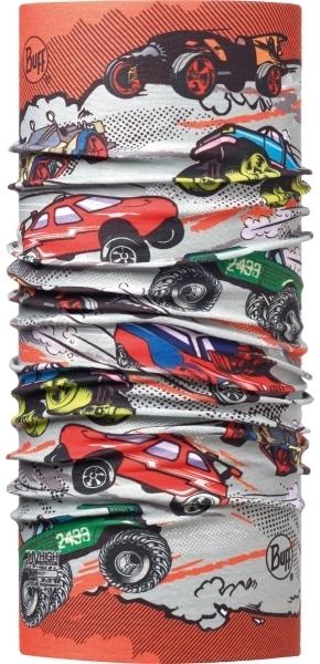Бандана-труба летняя Buff Trash Cars Multi