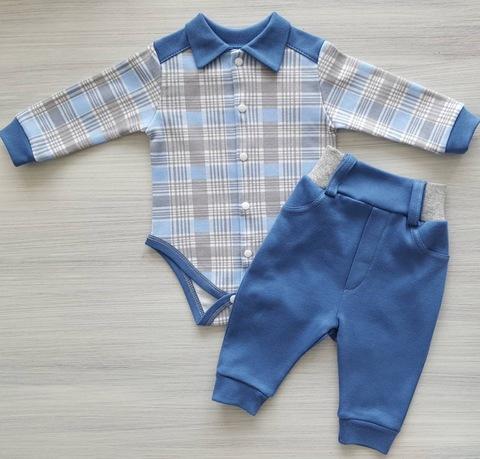 Комплект для мальчика (боди+штанишки)