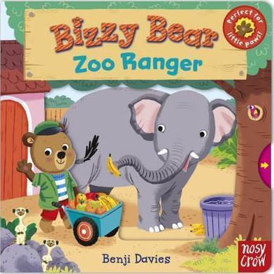 Kitab Bizzy Bear: Zoo Ranger | Nosy Crow