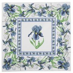 Салфетки 40x40 Blonder Home Iris синие