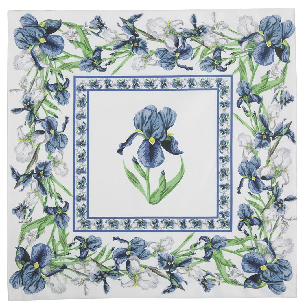 Кухня Салфетки 40x40 Blonder Home Iris синие salfetki-4-sht-40x40-blonder-home-iris-sinie-ssha-rossiya.JPG