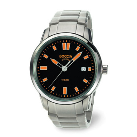 Купить Мужские наручные часы Boccia Titanium 3573-02 по доступной цене