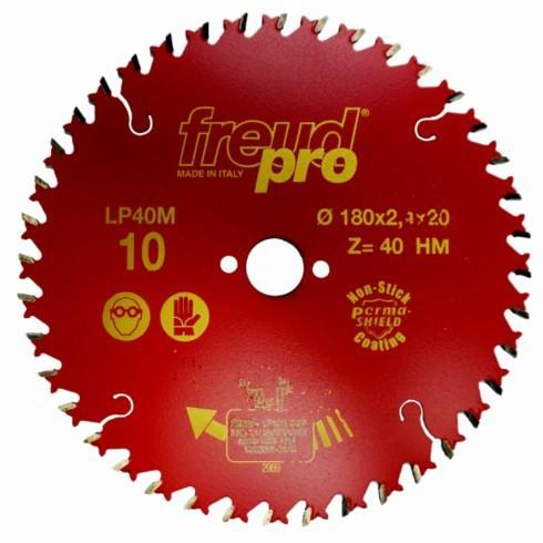 Диск пильный LP40M по дереву 180х20 мм, 40 зуб. FREUD PRO Freud LP40M010