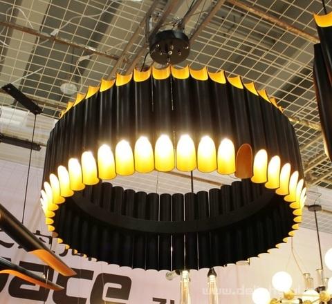 replica GALLIANO chandelier  by Delightfull ( 90 cm + black )