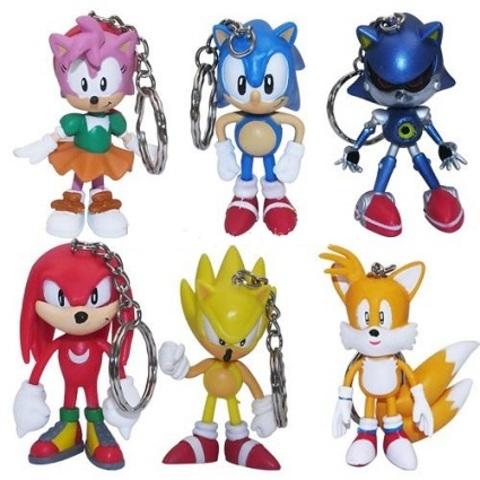 Брелок Sonic The Hedgehog