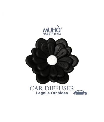 Автомобильный диффузор Цветок Орхидея и драгоценное дерево, Muha