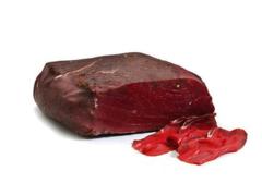 Карпаччо из мяса марала