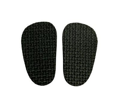 Подошва для изготовления обуви толщиной 4мм, 4*7см, 1 пара.