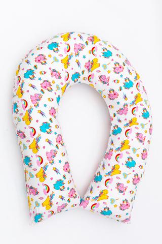 Подушка для беременных U300 (лебяжий пух) 10658 единорог
