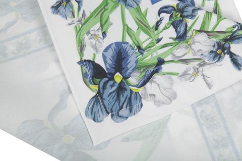 Салфетки 4 шт 40x40 Blonder Home Iris синие