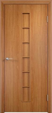 Дверь Верда С-12, цвет миланский орех, глухая