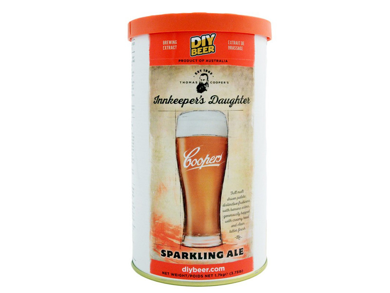 Экстракты Солодовый экстракт COOPERS Thomas Coopers Innkeeper's Daughter Sparkling Ale Brew Can 1,7 кг 79_G_1482239615738.jpg