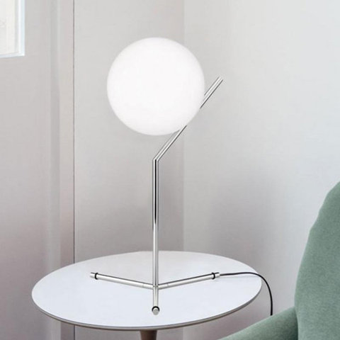 replica  IC T1 chrome  table lamp BY MICHAEL ANASTASSIADES