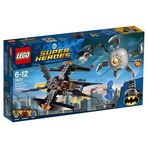 LEGO Super Heroes: Бэтмен: ликвидация Глаза брата 76111 — Batman: Brother Eye Takedown — Лего Супергерои ДиСи