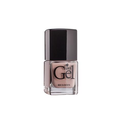 Relouis Like Gel Лак для ногтей с гелевым эффектом тон №06 (песочный бисквит) 6г