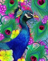 Жар-птица - Картина со стразами