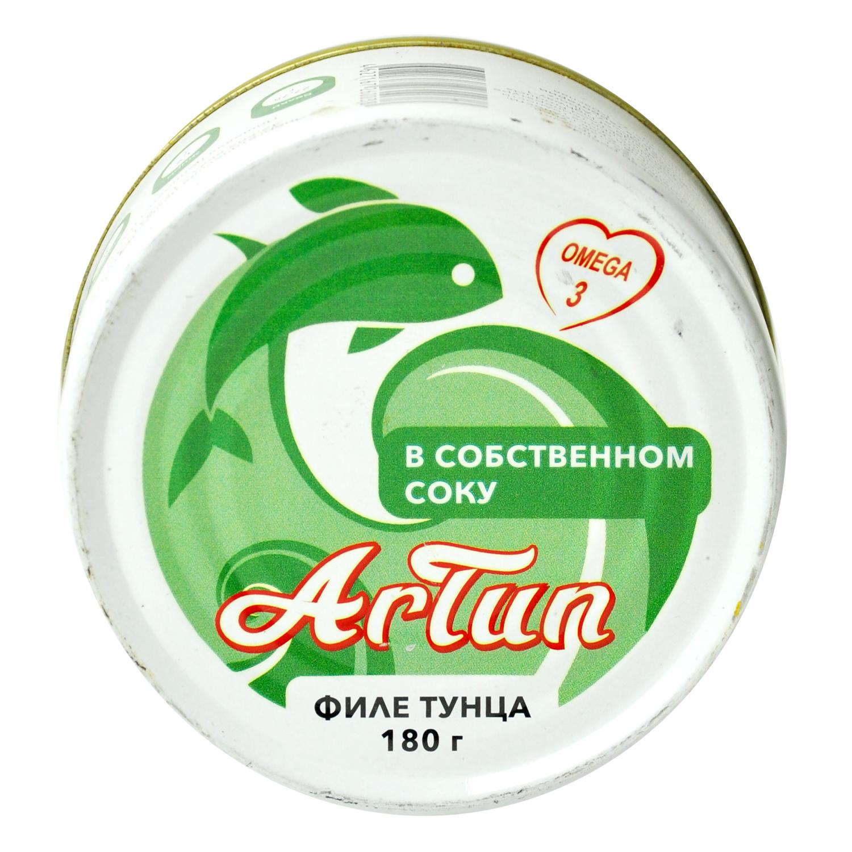 Тунец ARTUN консервированный филе в собственном