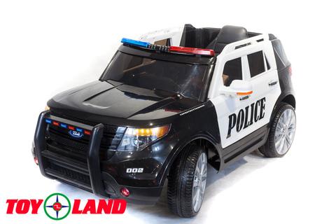 Электромобиль Toyland Police СН 9935 черно-белый