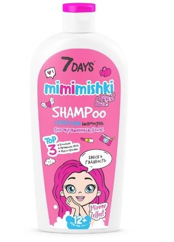 7 DAYS Mimimishki Шампунь для волос Суперский  400 мл ВСД033