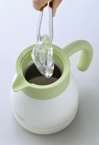 Кувшин-термос со стальной колбой TGR-601(HBG)Carafe (0,6 литра) белый