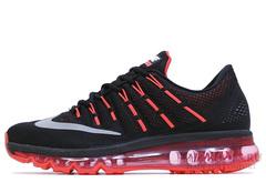Кроссовки Мужские Nike Air Max 2016 Black Red