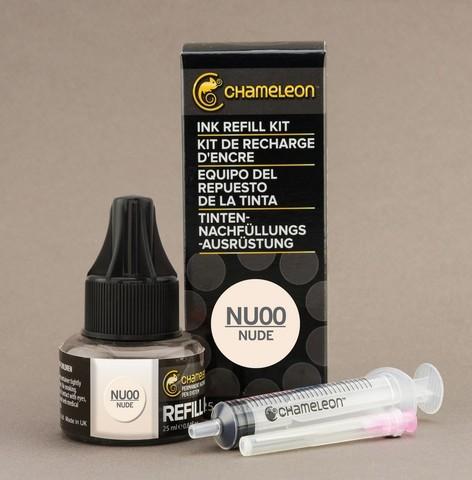 Чернила для маркеров Chameleon телесные NU00, 25 мл