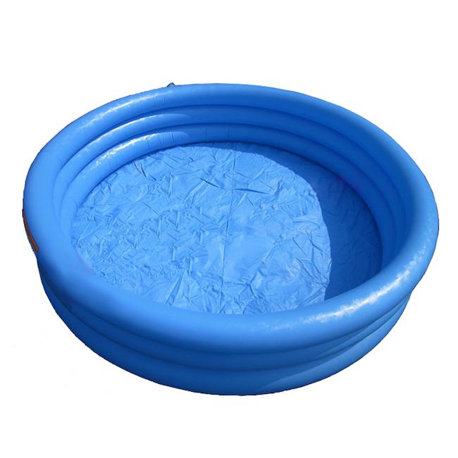 Голубой вариант детского бассейна