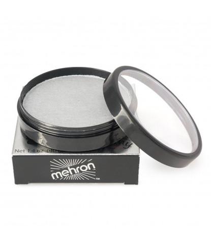 Аквагрим Mehron 40 гр перламутровый серебряный