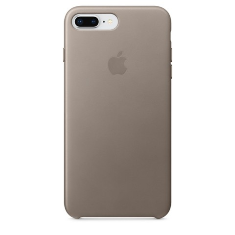 Чехол iPhone 7+/8+ Leather Case /taupe/
