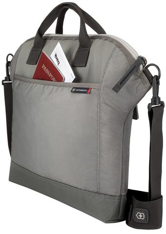 Сумка Victorinox Altmont 3.0 Slimline Horizontal Laptop Tote 13'', серая, 40x6x34 см, 8 л