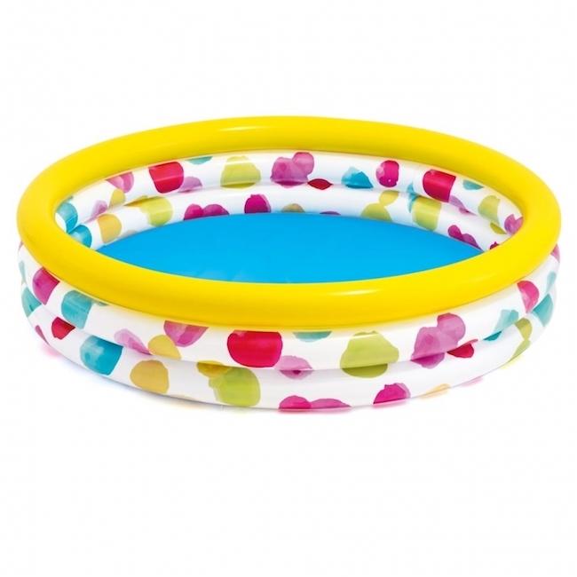 Разноцветный вариант детского бассейна