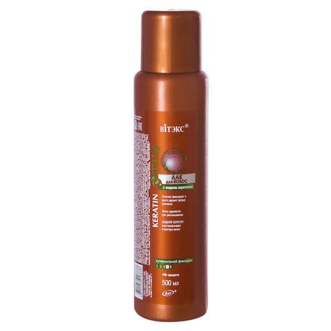 Витэкс Keratin Styling Лак для волос с жидким кератином суперсильной фиксации 500 мл