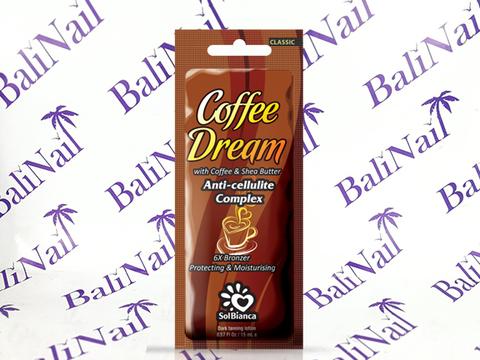 Чистовье Крем SolBianca Coffee Dream с маслом кофе, маслом Ши и бронзаторами, 15 мл