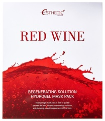 [ESTHETIC HOUSE] Гидрогелевая маска для лица RED WINE REGENERATING SOLUTION HYDROGEL MASK PACK