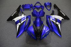 Комплект пластика для мотоцикла Yamaha YZF-R6 08-15 Сине-Бело-Черный