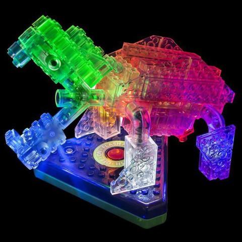 Конструктор «Гео Животные» 12 в 1 от Laser Pegs (NG200)