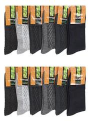 B15 носки мужские 42-48 (12шт.), цветные