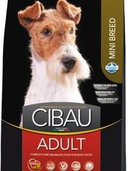 Корм для взрослых собак мелких пород, Farmina Cibau Adult Mini