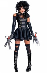 Эдвард Руки-Ножницы костюм женский — Edward Scissorhands Cosplay Costumes for Adult Women