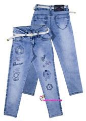 533 джинсы вышивка